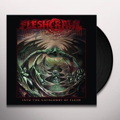 Fleshcrawl INTO THE CATACOMBS OF FLESH Vinyl Record