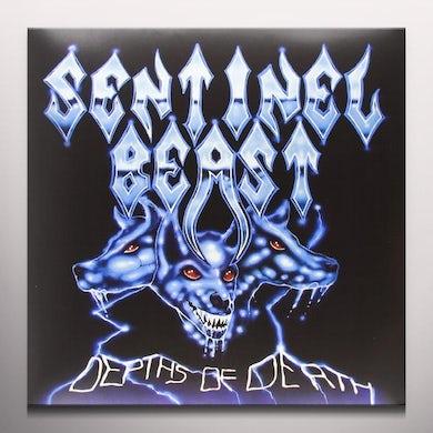 Sentinel Beast DEPTHS OF DEATH Vinyl Record - Colored Vinyl