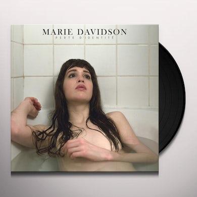 Marie Davidson PERTE D'IDENTITE Vinyl Record