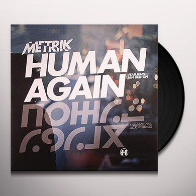 Metrik HUMAN AGAIN / SLIPSTREAM Vinyl Record