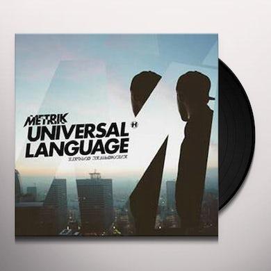Metrik UNIVERSAL LANGUAGE Vinyl Record