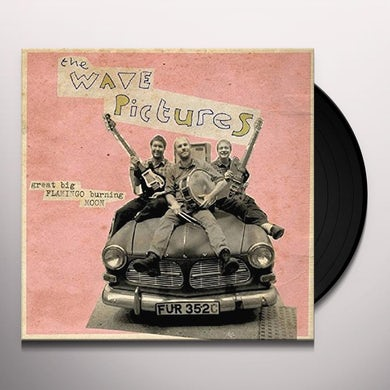 The Wave Pictures GREAT BIG FLAMINGO BURNING MOON Vinyl Record - UK Release