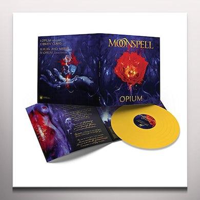 Moonspell OPIUM (MUSTARD YELLOW VINYL) Vinyl Record