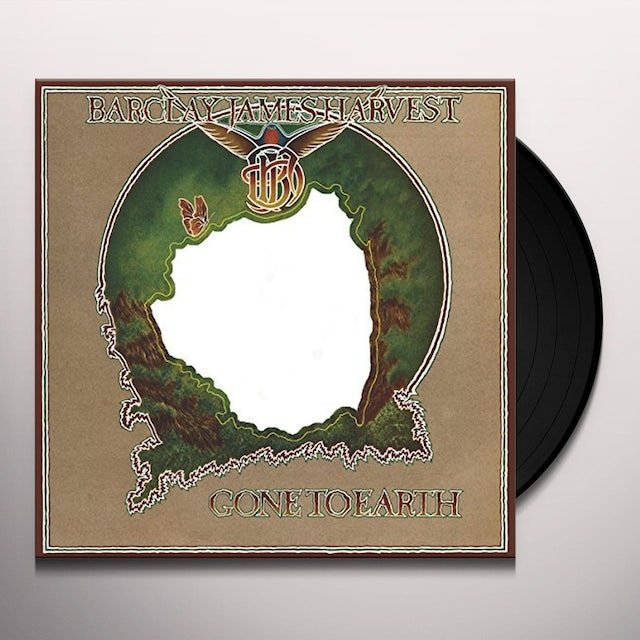 Barclay James Harvest GONE TO EARTH Vinyl Record