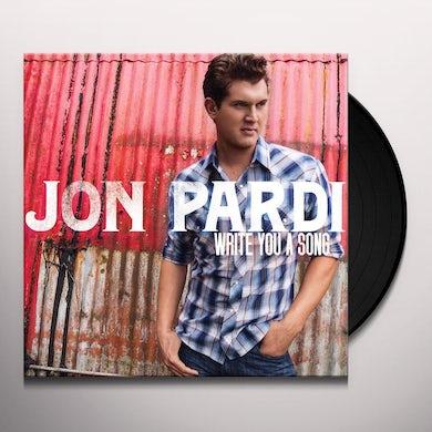Jon Pardi WRITE YOU A SONG Vinyl Record