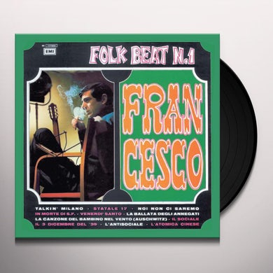 Francesco Guccini FOLK BEAT N1 Vinyl Record