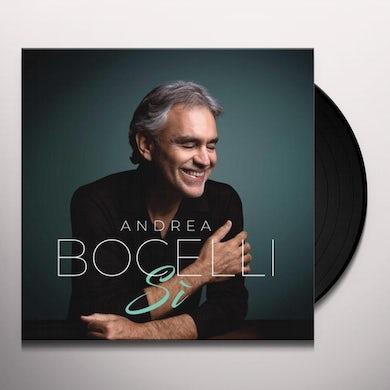 Andrea Bocelli SI Vinyl Record
