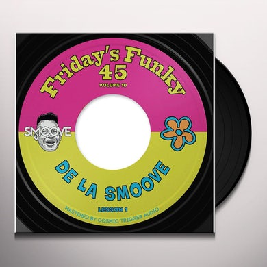 DE LA SMOOVE B/W HALL & SOUL Vinyl Record