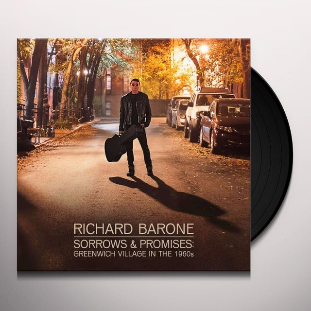 Richard Barone SORROWS & PROMISES Vinyl Record