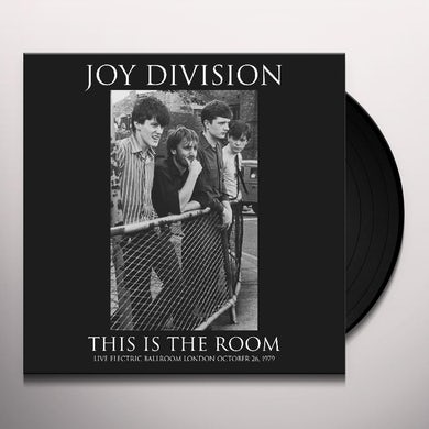 Joy Division THIS IS THE ROOM Vinyl Record