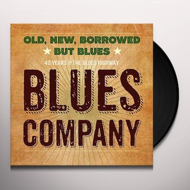 OLD NEW BORROWED BUT BLUES Vinyl Record