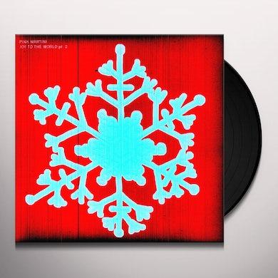Pink Martini JOY TO THE WORLD 2 Vinyl Record