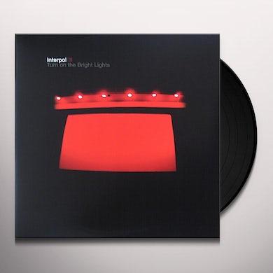 Interpol TURN ON THE BRIGHT LIGHT Vinyl Record