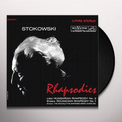 Leopold Stokowski RHAPSODIES Vinyl Record