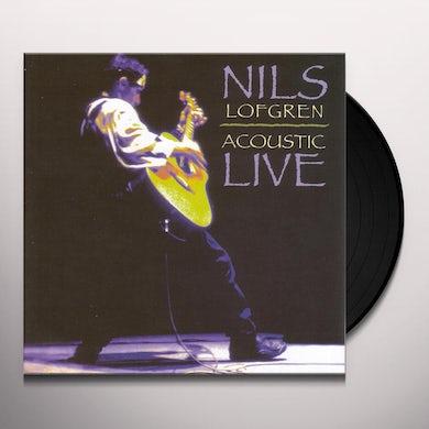 Nils Lofgren ACOUSTIC LIVE Vinyl Record