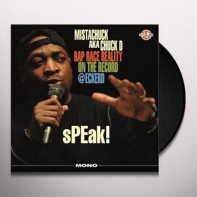 Chuck D SPEAK RAP RACE REALITY ON THE RECORD ECKERD Vinyl Record