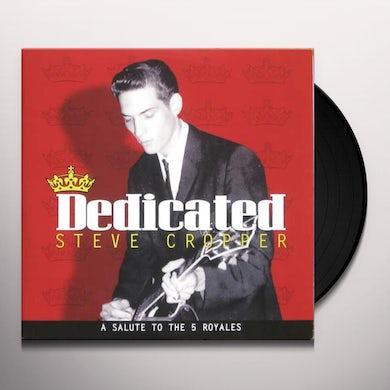 Steve Cropper DEDICATED Vinyl Record