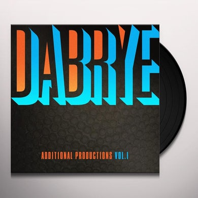 Dabrye ADDITIONAL PRODUCTIONS VOL. I Vinyl Record