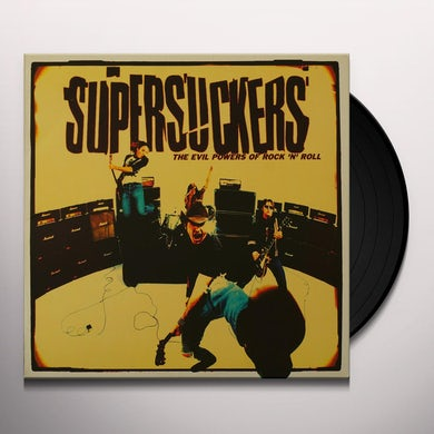 Supersuckers EVIL POWERS OF ROCK AND ROLL Vinyl Record