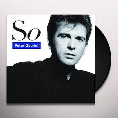 Peter Gabriel SO Vinyl Record