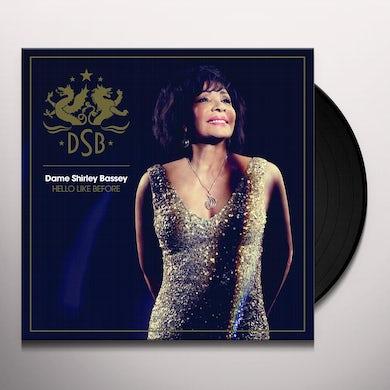 Shirley Bassey HELLO LIKE BEFORE Vinyl Record