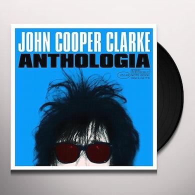 John Cooper Clarke ANTHOLOGIA Vinyl Record