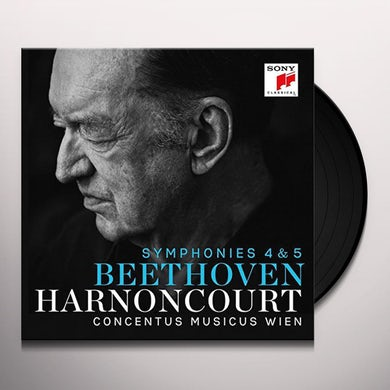 Nikolaus Harnoncourt BEETHOVEN: SYMPHONIES 4 & 5 Vinyl Record