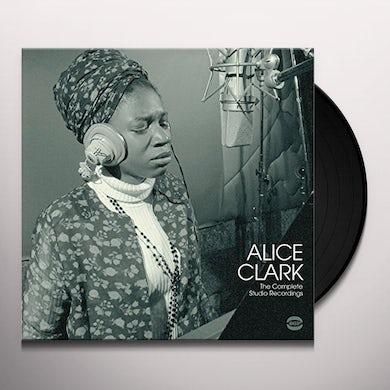 Alice Clark COMPLETE STUDIO RECORDINGS Vinyl Record