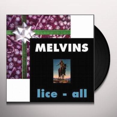 Melvins EGGNOG / LICE ALL Vinyl Record
