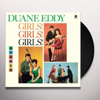 Duane Eddy Girls! Girls! Girls! Vinyl Record
