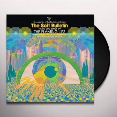 The Flaming Lips SOFT BULLETIN: LIVE AT RED ROCKS Vinyl Record