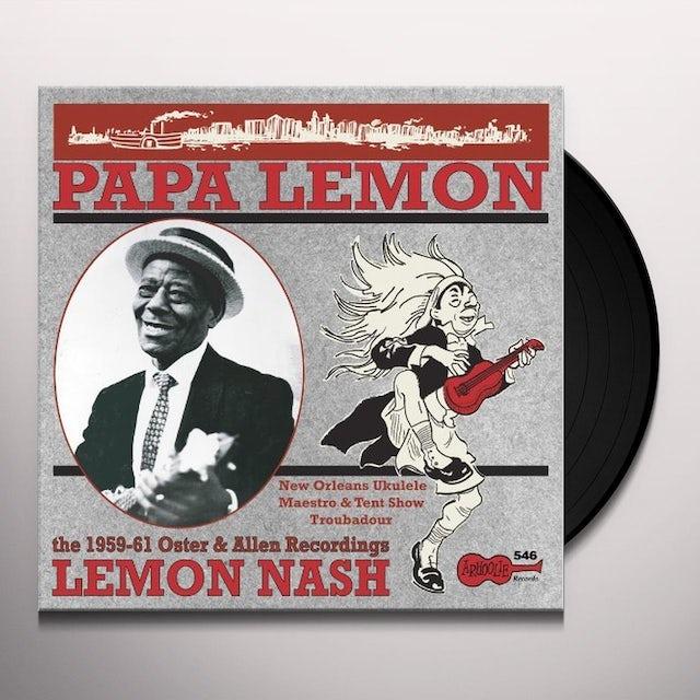 Lemon Nash PAPA LEMON: NEW ORLEANS UKELELE MAESTRO & TENT Vinyl Record