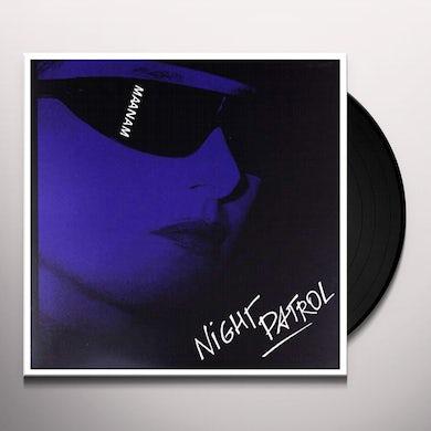 Maanam NIGHT PATROL Vinyl Record