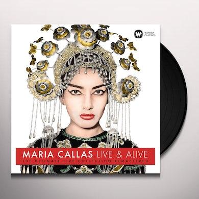 Maria Callas LIVE & ALIVE - ULTIMATE LIVE COLLECTION Vinyl Record