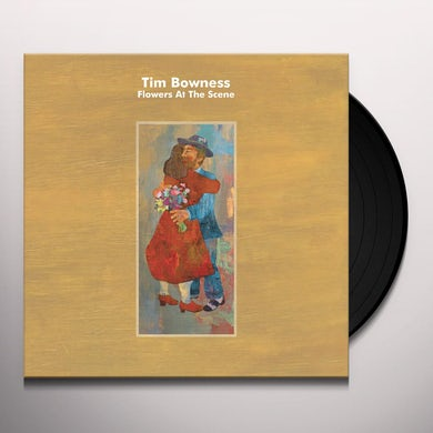 Tim Bowness FLOWERS AT THE SCENE Vinyl Record