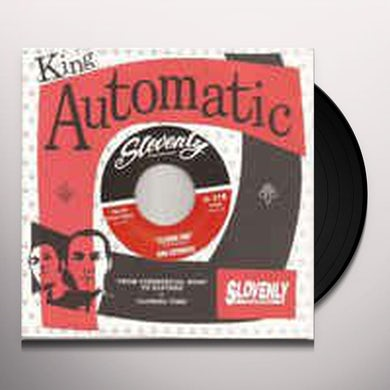 KING AUTOMATIC CLOSING TIME & FROM COMMERCIAL ROAD TO ELSTREE Vinyl Record