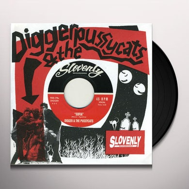 Digger & The Pussycats NIGHT OF TWO MOONS / SOFIA Vinyl Record