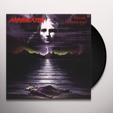 Annihilator NEVER, NEVERLAND Vinyl Record
