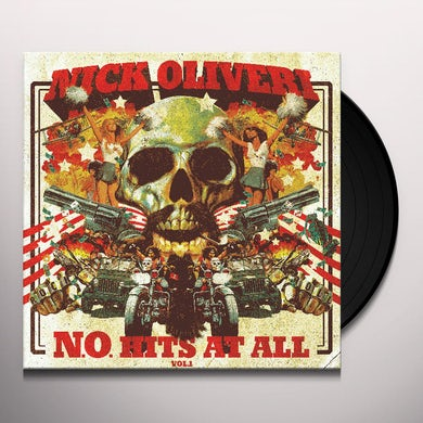 Nick Oliveri N.O. HITS AT ALL 1 Vinyl Record