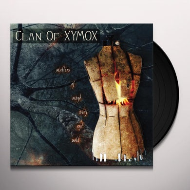Clan Of Xymox MATTERS OF MIND BODY & SOUL Vinyl Record