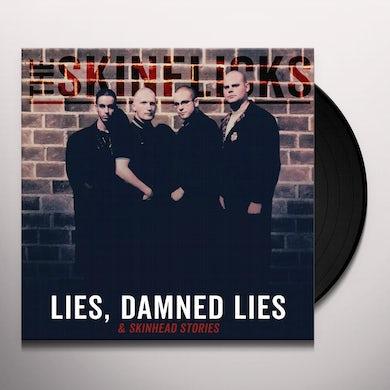 Skinflicks LIES DAMNED LIES & SKINHEAD STORIES Vinyl Record