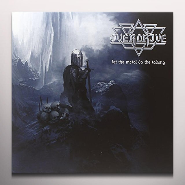 Overdrive LET THE METAL DO THE TALKING Vinyl Record