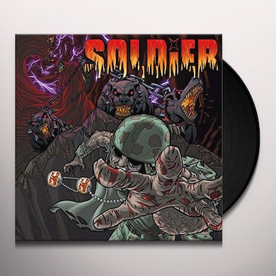 Soldier DOGS OF WAR Vinyl Record