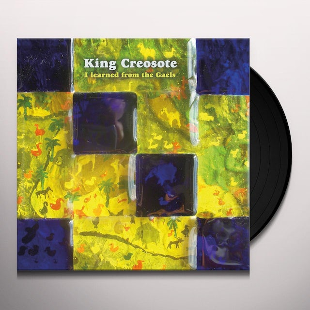 King Creosote I LEARNED FROM THE GAELS Vinyl Record