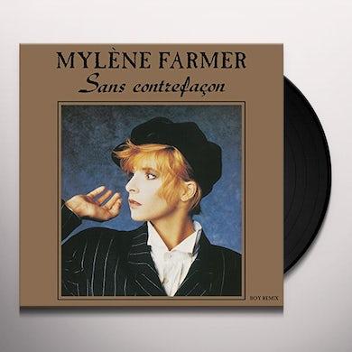 Mylène Farmer SANS CONTREFACON Vinyl Record