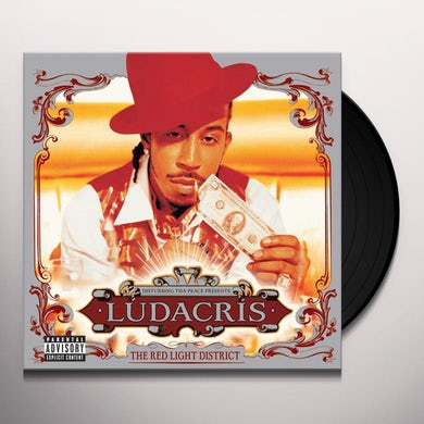 Ludacris  RED LIGHT DISTRICT Vinyl Record