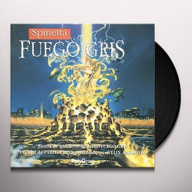 Luis Alberto Spinetta FUEGO GRIS Vinyl Record