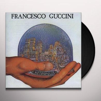 Francesco Guccini METROPOLIS Vinyl Record