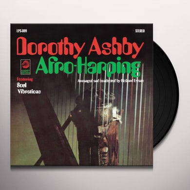 AFRO-HARPING Vinyl Record