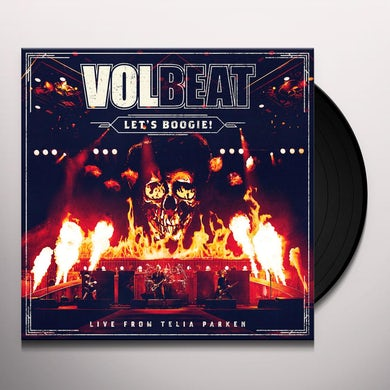 Volbeat LET'S BOOGIE (LIVE FROM TELIA PARKEN) Vinyl Record